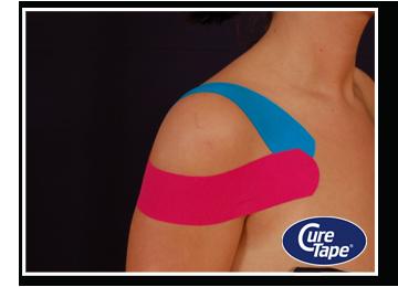 как наклеить тейп плечевой сустав
