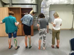 кинезиотейпирование ног