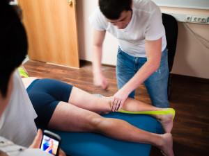 тейпирование ноги на примере