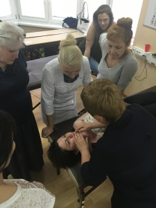 сплит-массаж лица